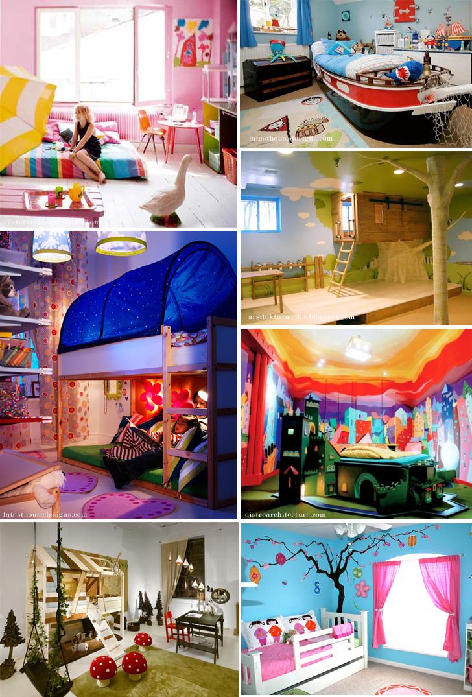 可愛くておしゃれな世界の子供部屋キッズルームの実例とインテリア Wolca